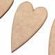 Long Heart Craft Shape