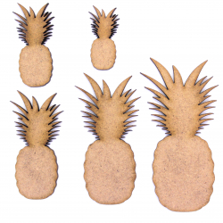Pineapple Craft Shape