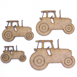 Tractor Craft Shape