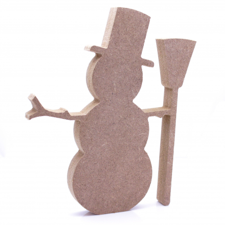 Free Standing Snowman Shape
