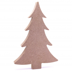 Free Standing Christmas Tree Shape