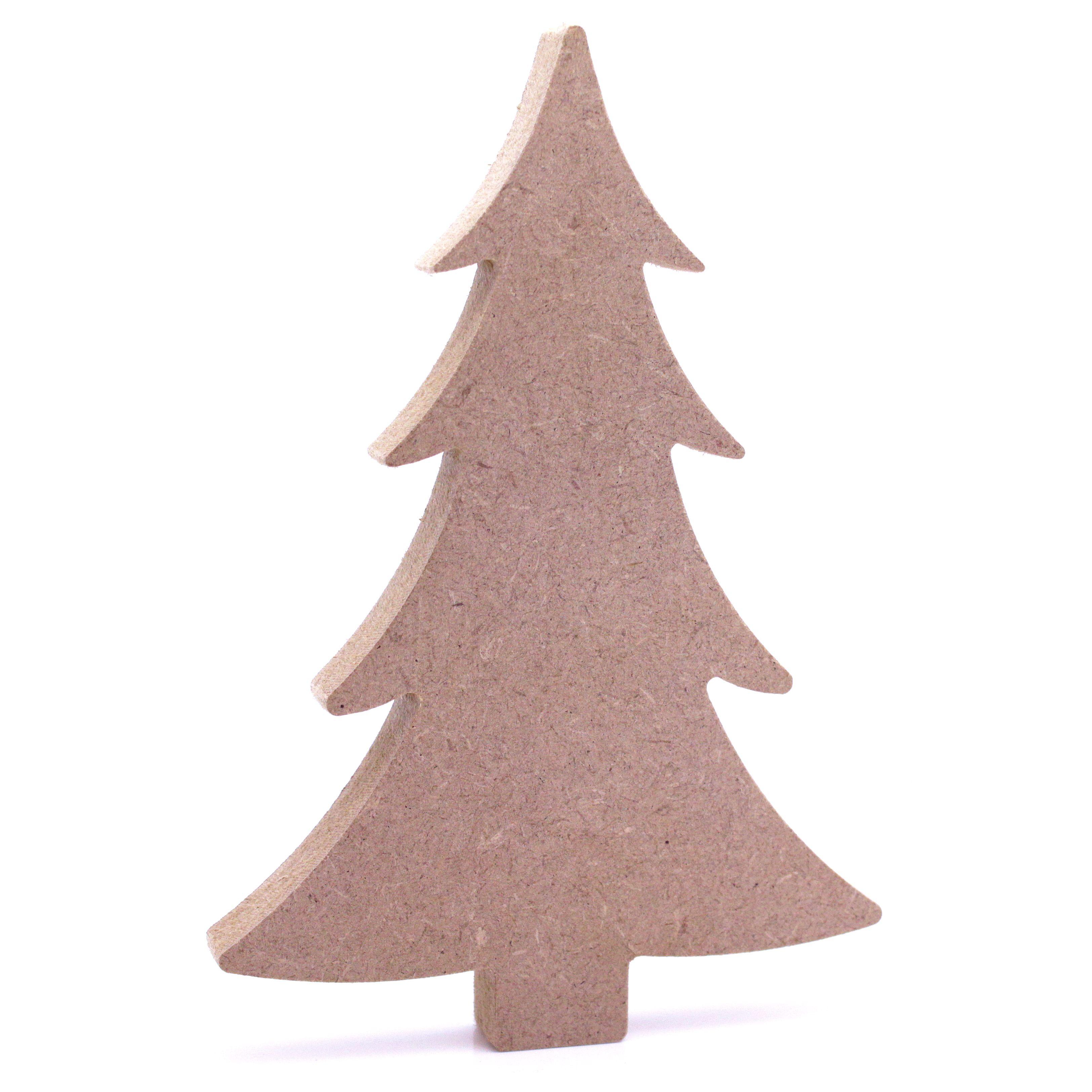 Image Christmas Tree Free.Mdf 18mm Free Standing Christmas Tree Craft Shape