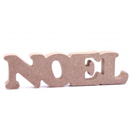 Free Standing Noel Shape