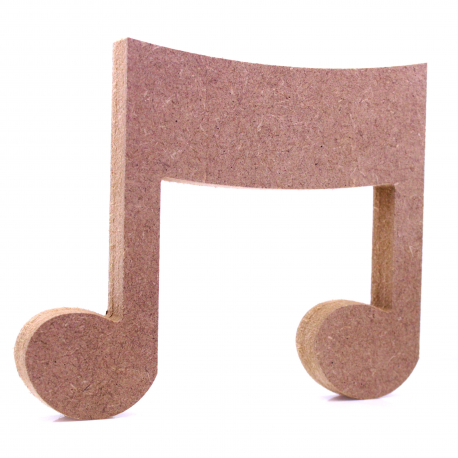 Free Standing Music Note Shape