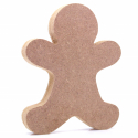 Free Standing Gingerbread Man Shape