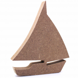 Free Standing Sailboat Shape