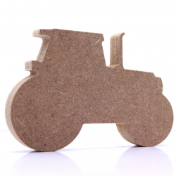 Free Standing Tractor Shape