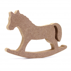 Free Standing Rocking Horse Shape