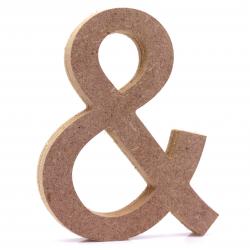 Free Standing Ampersand Shape