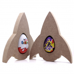 Free Standing Rocket Egg Holder