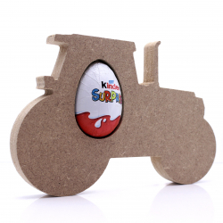 Free Standing Tractor Egg Holder