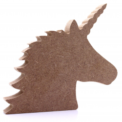 Free Standing Unicorn Shape