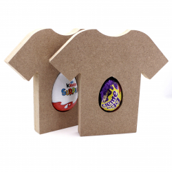 Free Standing Football Shirt Egg Holder