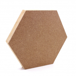 Free Standing Hexagon Shape