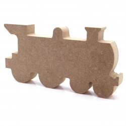 Free Standing Train Engine Shape