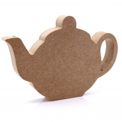 Free Standing Teapot Shape