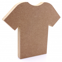 Free Standing Football Shirt Shape