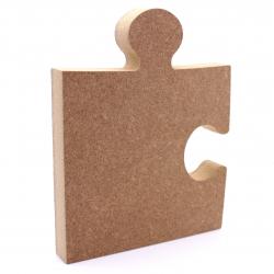 Free Standing Corner Jigsaw Piece Shape