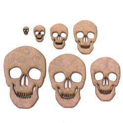 Skull Craft Shapes