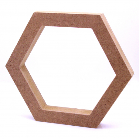 Free Standing Hollow Hexagon Shape
