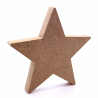 Free Standing Star Shape