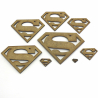 Superman Craft Shape