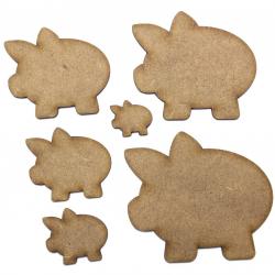 Piggy Bank Craft Shape