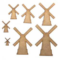 Windmill Craft Shape