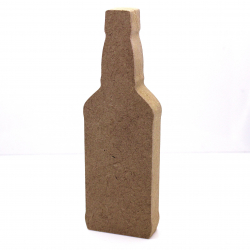 Free Standing Whiskey Bottle Shape