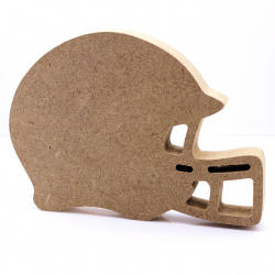 Free Standing American Football Helmet Shape