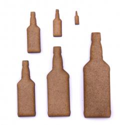 Whiskey Bottle Craft Shape