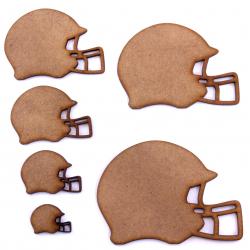 American Football Helmet Craft Shape