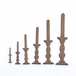 Candlestick Craft Shape