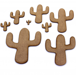 Cactus Craft Shape