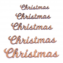 Christmas Word Craft Shape