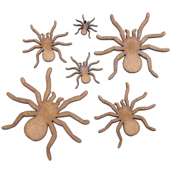 Spider Craft Shape
