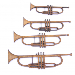Trumpet Craft Shape