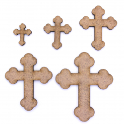 Rounded Cross Craft Shape