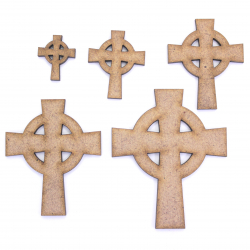 Celtic Cross Craft Shape