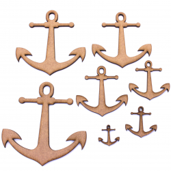 Anchor MDF Craft Shape