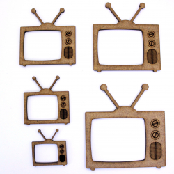 Retro TV with AerialCraft Shape