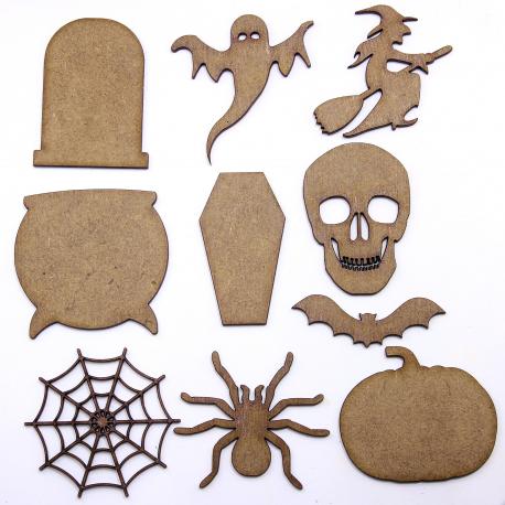 Mixed Halloween Shapes