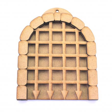 Castle Gate with Sliding Portcullis Kit