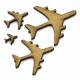 Aeroplane Plane MDF Craft Shape