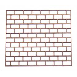 MDF Brick Wall Panel Stencil