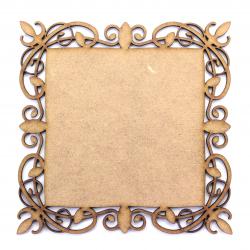 MDF Elegant Frame 100mm Square Blank