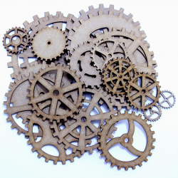 MDF Mixed Cog Bundle (20 Pieces)