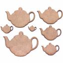Teapot Craft Shape