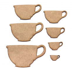 Teacup  MDF Craft Shape