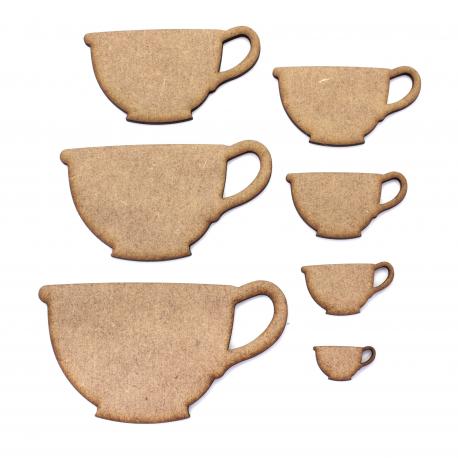 Teacup  MDF Craft Shape